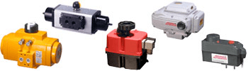 examples of rotary valve actuators