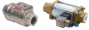 coaxial on/off valves