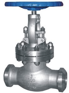 Cast valve with socket connection