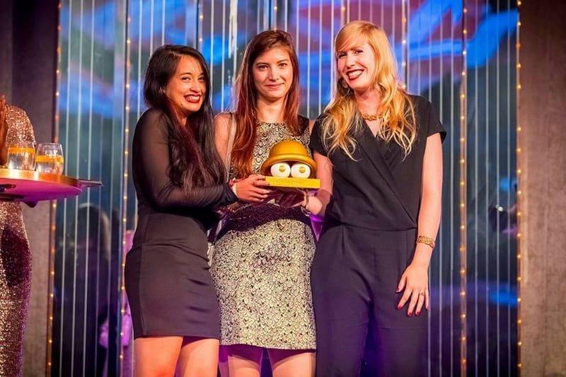 New Talent Award WINNER!