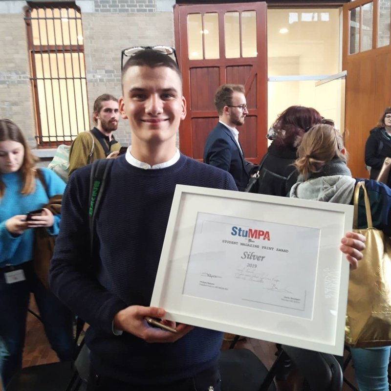 StuMPA (Student Magazine Print Award) SILVER WINNER