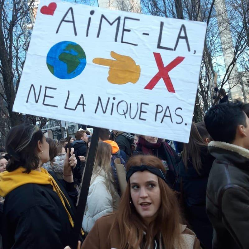 Marche pour le climat (février 2019)