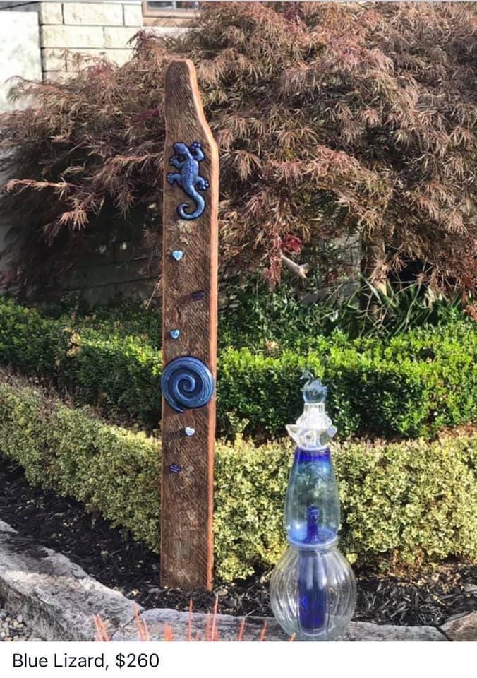 Blue Lizard, $260
