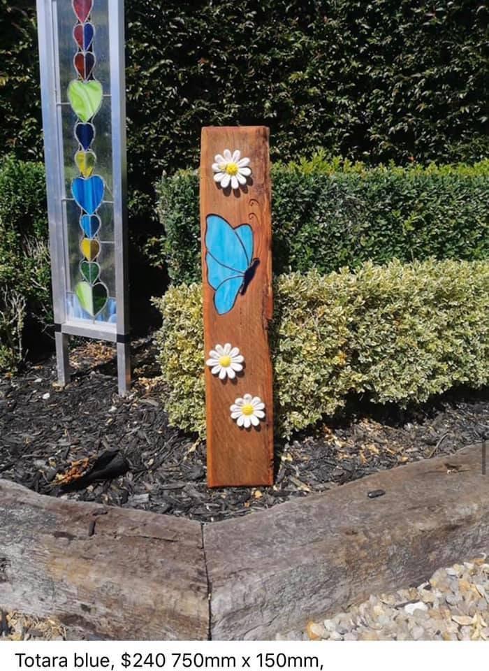 Blue Butterfly, $240