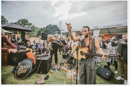 FREE LIVE MUSIC on the football pitch - CANCELLED
