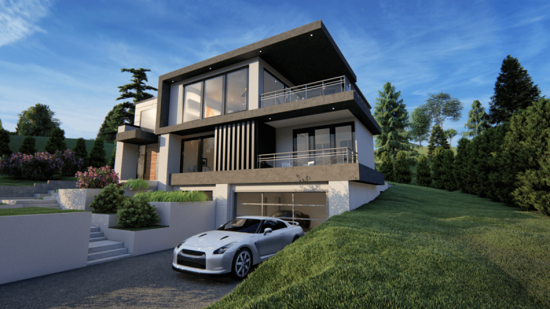 3D Exterior Render Package