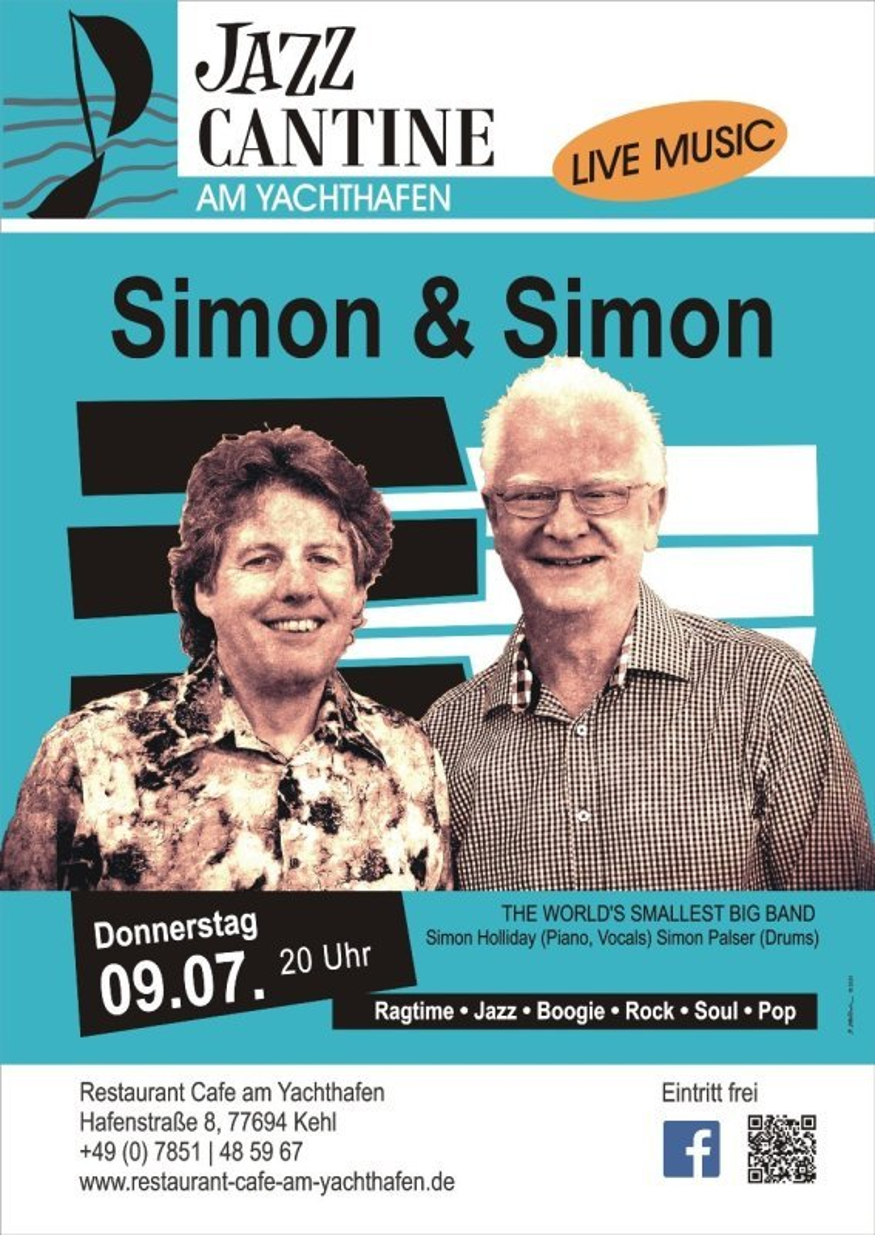 Simon & Simon   Do, 09.07.2020  20Uhr