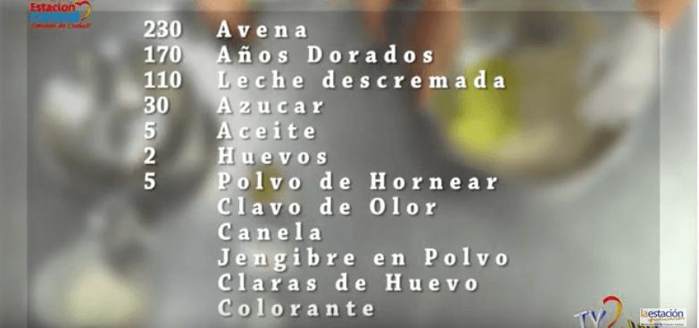 Cocina Feliú Cruz GALLETAS DE JENGIBRE