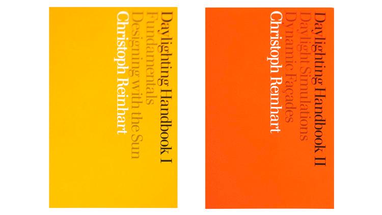 Manual de iluminação natural I + II / Christoph Reinhart.  Imagem via Amazon