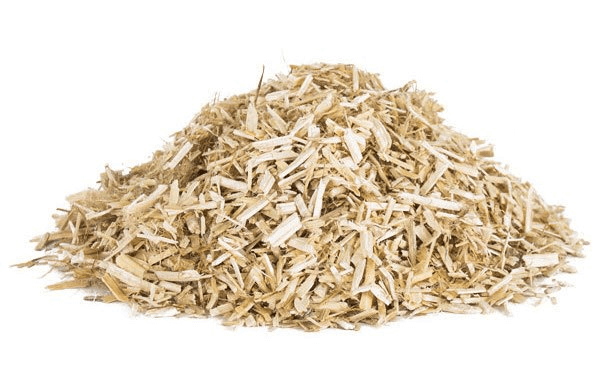 Hemp hurds, derived from the soft inner core of the hemp plant, are used often in construction. It has a lot of potential for sustainability uses.