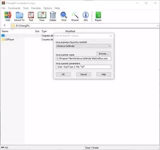 WinRAR screenshot 3