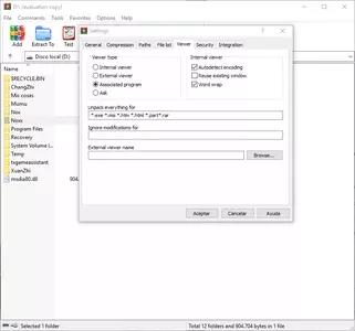 WinRAR screenshot 4