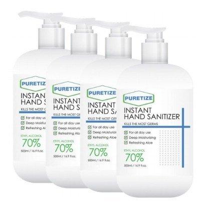 Puretize Instant Hand Sanitizer Spray