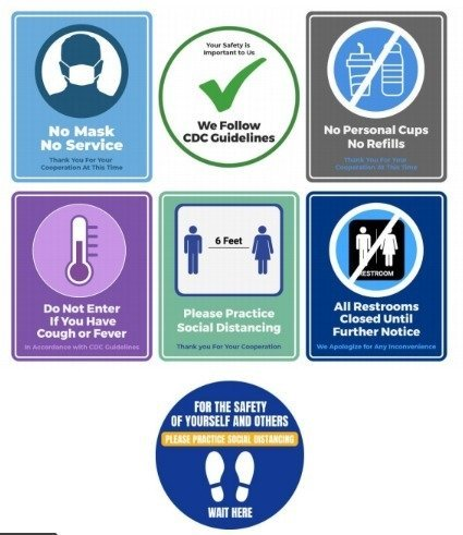 Safety Information Graphics