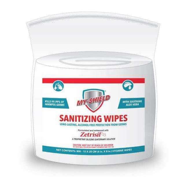 Myshield Sanitizing Wipes