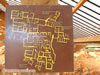 نقشه منطقه M  مالیا