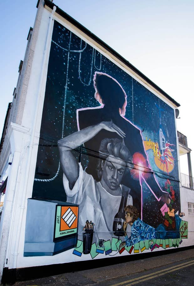 George Michael: a Londra un murale in suo onore