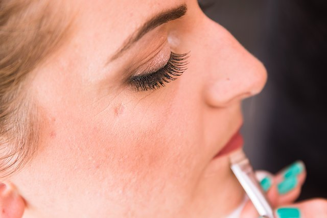 Maquillage mariage glamour