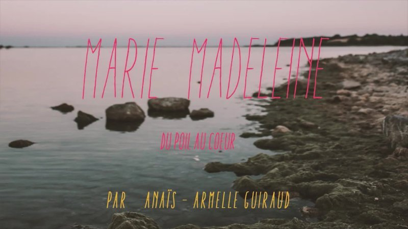 """BACKSTAGE """" Marie Madeleine """""""