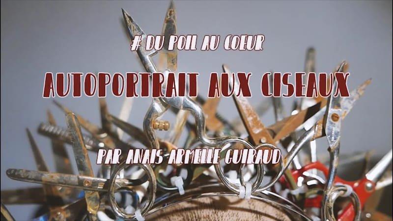 """BACKSTAGE """" Autoportrait aux ciseaux """""""