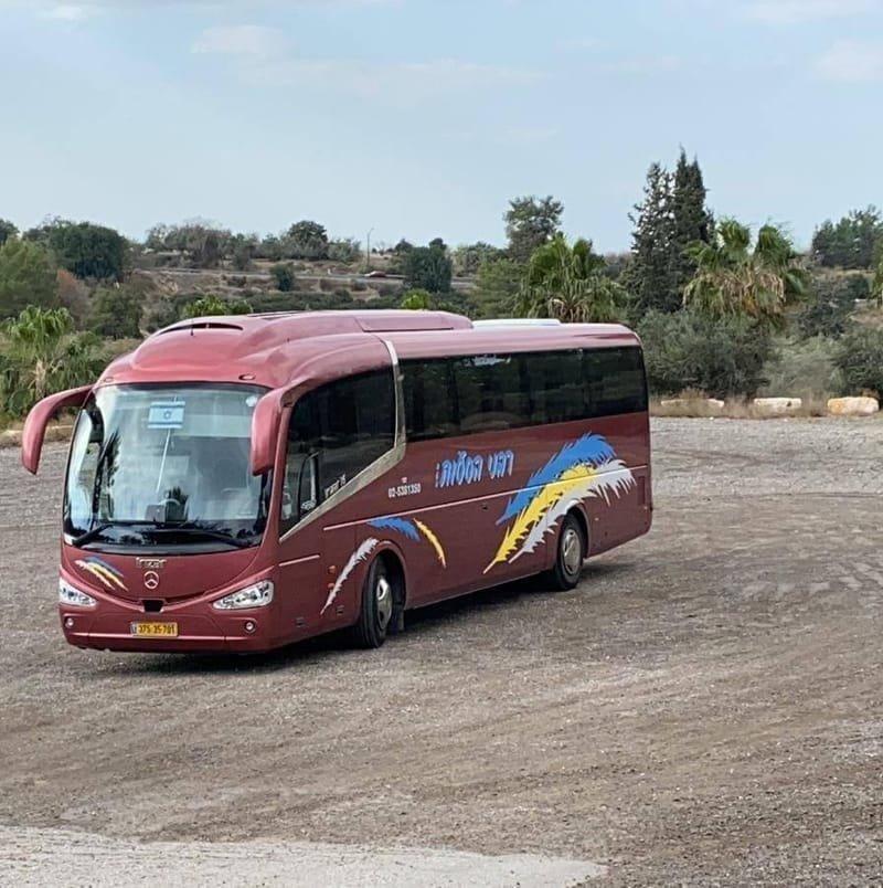 אוטובוסים ממוגני אבנים