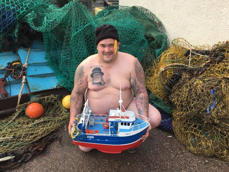 """Our """"Full Monty""""  Charity Fish Box"""