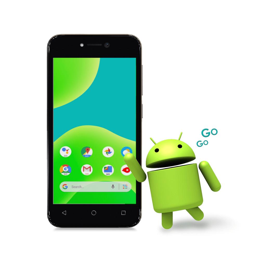 Android™ 8.1 Oreo™ (Go Edition)