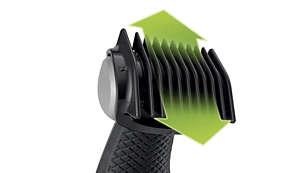 Include 3 pettini per una rifinitura naturale (3, 5, 7 mm)