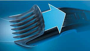 Tecnologia Trim-n-Flow per un taglio continuo