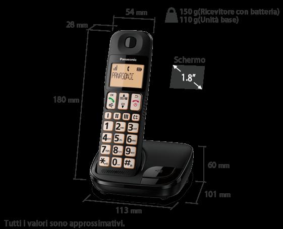 Telefono KX-TGE110