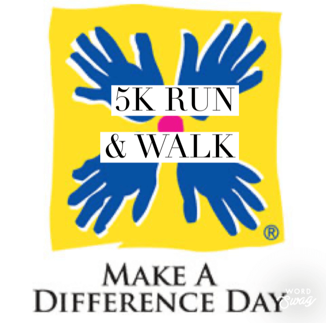MAKE A DIFFERENCE DAY 5K & 1 MILE RUN/WALK 10/24/2020