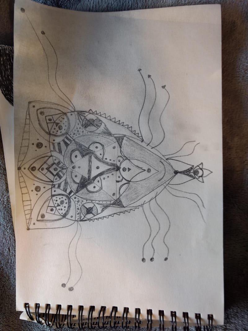 Flower/Mandala/Animal Head