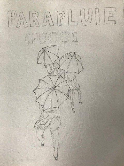 Parapluie Gucci
