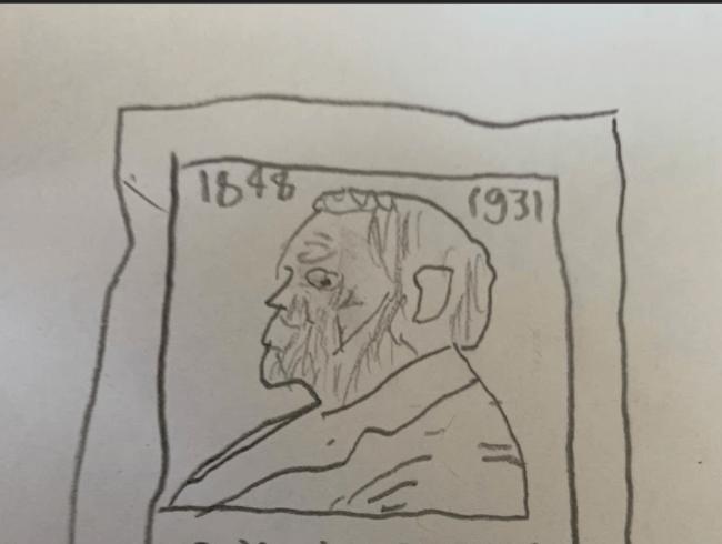 manuscript sketches