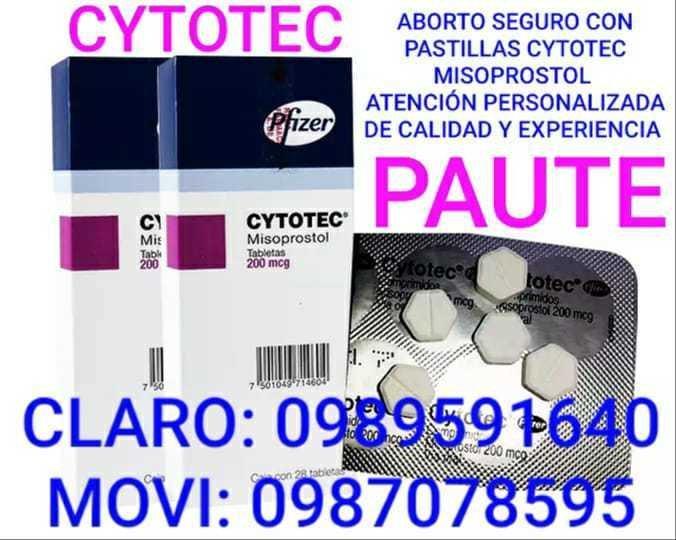 DISTRIBUCIÓN DIRECTA DE PASTILLAS ABORTIVAS CYTOTEC EN GUALACEO 0987078595