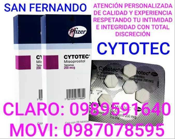 PASTILLAS PARA ABORTAR CYTOTEC EN GUALACEO 0989591640