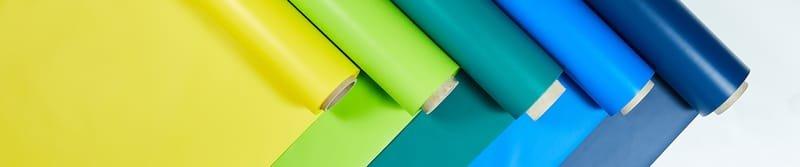 Folie PVC kolorowe