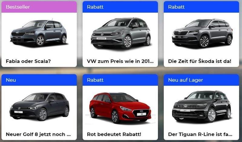 2000 Neuwagen -VW-Skoda-Seat-Opel-Kia-Hyundai