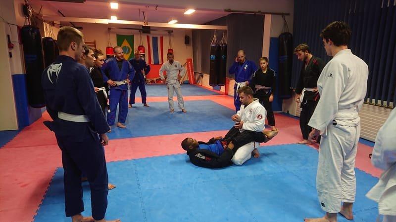 Jiu-Jitsu Brésilien au Club OZAKI