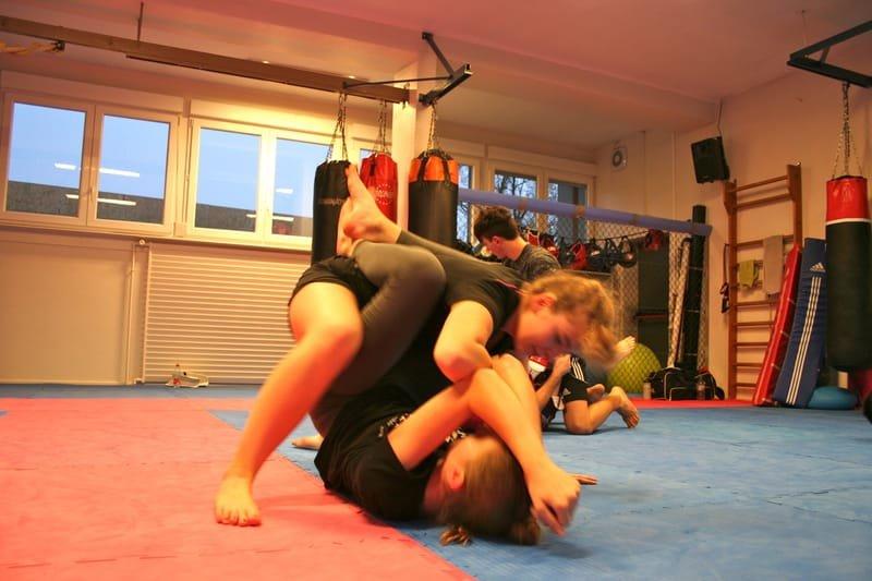 Stage MMA au Club OZAKI
