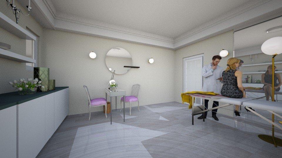 הדמיה לעיצוב חדר הזרקות