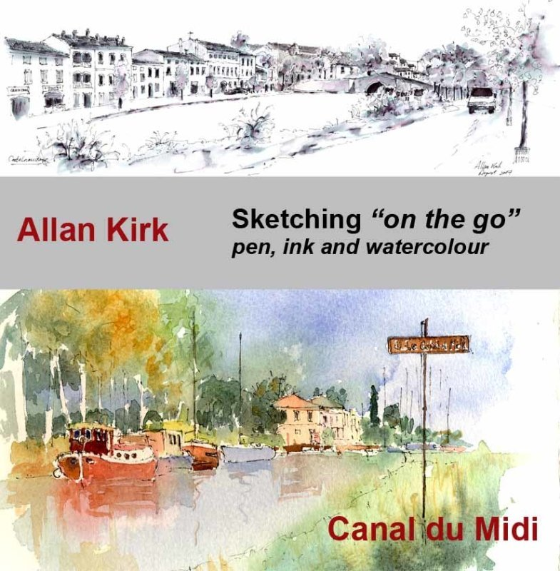 Sketching on the Go - Canal du Midi