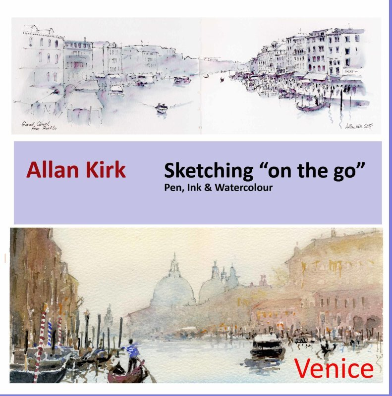 Sketching on the Go - Venice