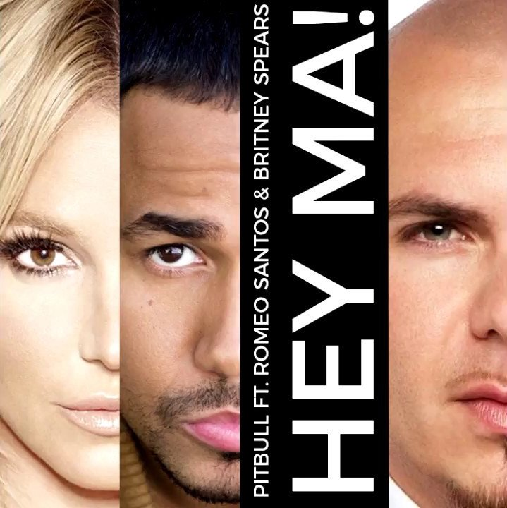 Pitbull Feat. Britney Spears & Romeo Santos - Hey Ma
