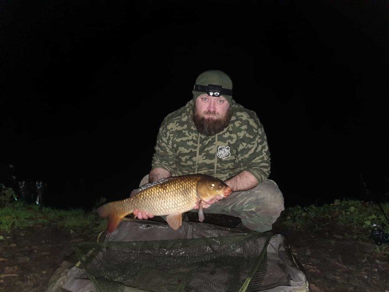 Another evening catch for Ian at Glebe Farm