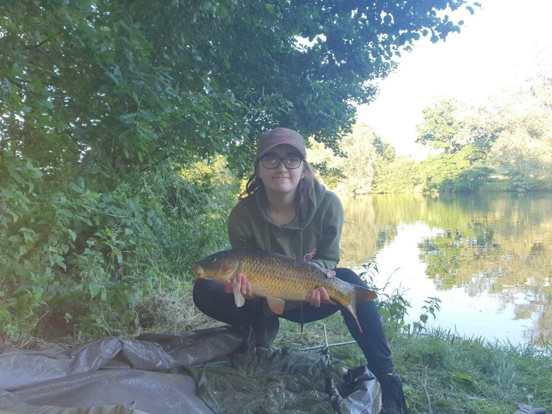 Another Carp for Anya at Pond House