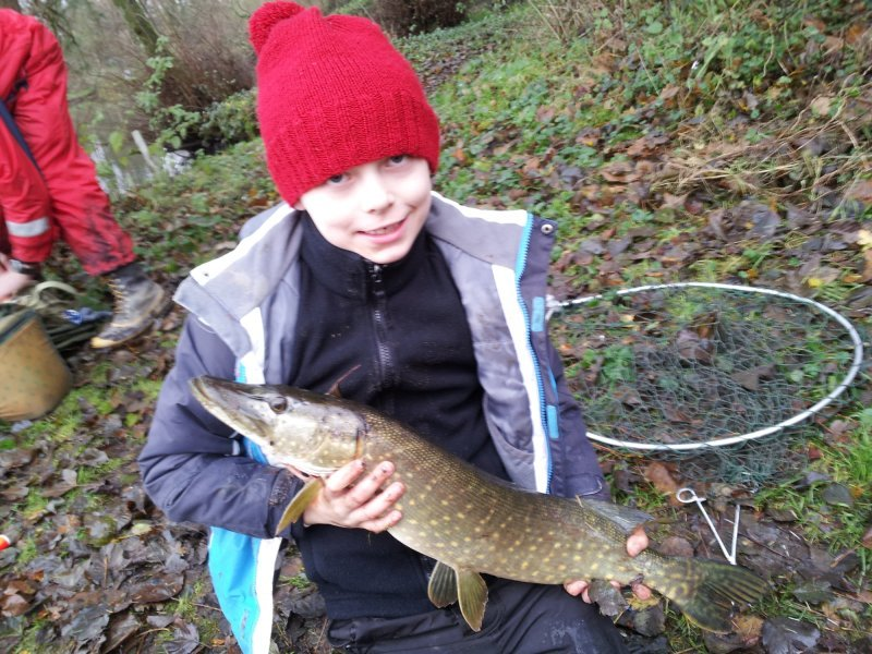 Nice Pike for this young lad