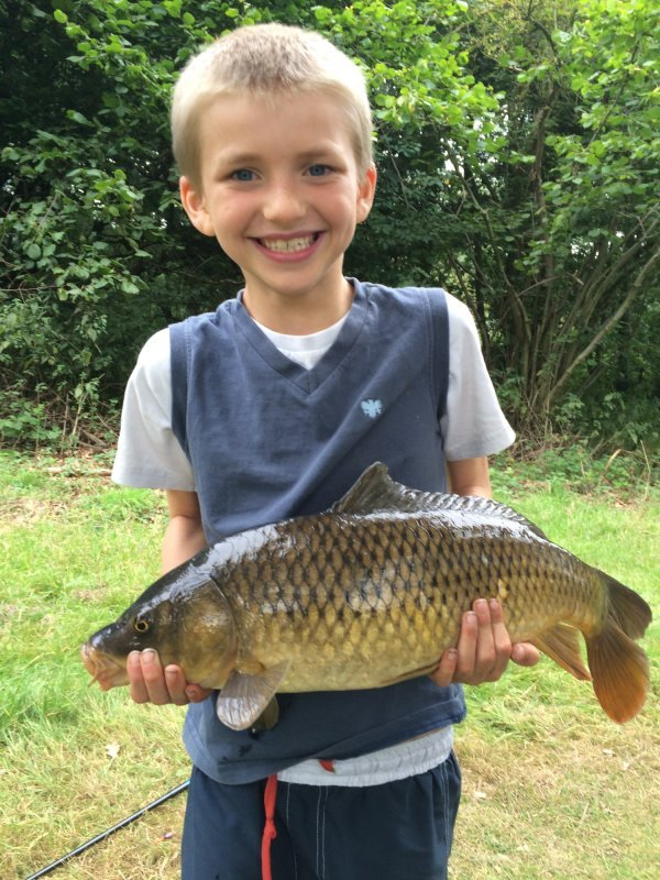 Another Junior pleased with his Carp