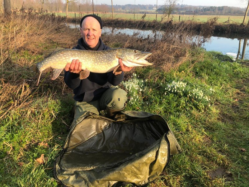 Barry with a nice River Pike