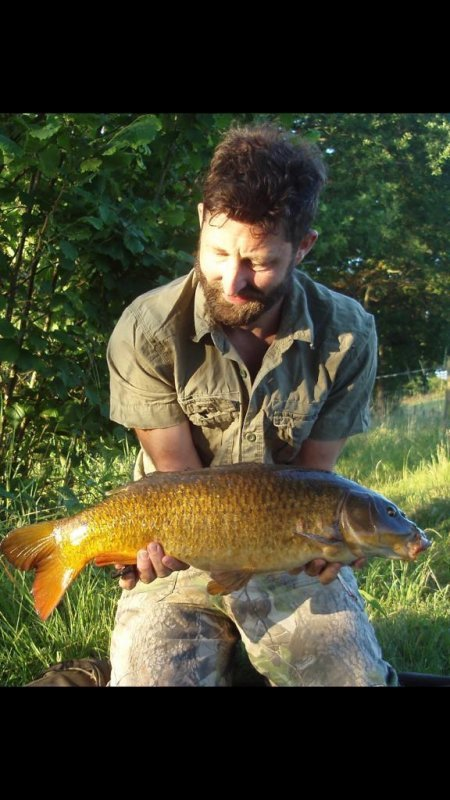 James with a nice Carp from Pond House